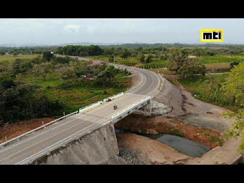 Inaugurado primer tramo de la carretera La Esperanza-Wapí, Zelaya Central