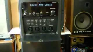 Sony SA VA3A active speaker system (old video) hifi system aktiv