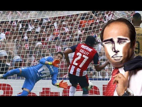 Gullit Peña falla Penal en el Pumas vs Chivas 2016