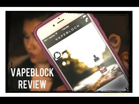 New VAPEBLOCK 1st Mobile Vape App Platform Review