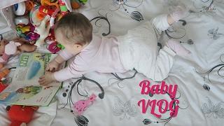 BABY VLOG: ЭМИЛИ 7 МЕСЯЦЕВ🎀 Что умеет ребенок в 7 месяцев?