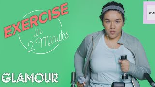 This Is Your Workout In 2 Minutes | Glamour