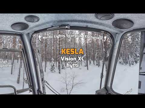 KESLA Vision XL -hytti 360 astetta sisältä FIN