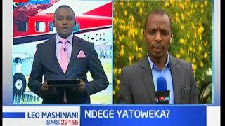 Ndege ya kampuni ya SAX iliyotoweka ilikuwa na watu kumi - Leo Mashinani