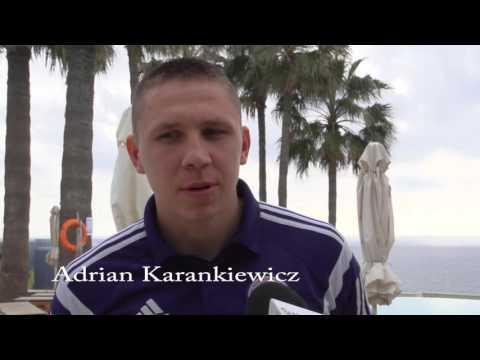 Piłkarze Wigier w Walentynki rozpoczęli obóz na Cyprze