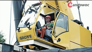 How to Operate Manitowoc Cranes - Crane Operations 6400