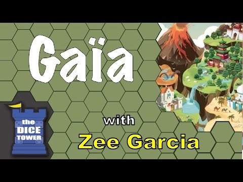Gaïa - A Dice Tower Review with Zee Garcia