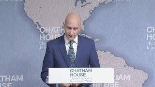 Video: My Chatham House lecture