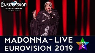 "Madonna   ""Like A Prayer""""Dark Ballet""""Future"" (feat. Quavo)   Live At Eurovision 2019"