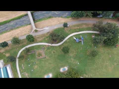 Vegadeo a vista de dron