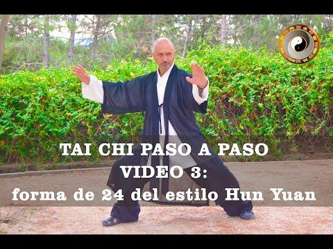 Hun Yuan Taiji Quan paso a paso: video 3
