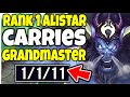 1 ALISTAR WORLD SHOWS HOW TO CARRY AS SUPPORT IN GRANDMASTER League of Legends
