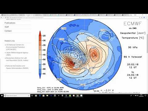 More On Next Weeks Very Cold Weather (21/02/18)