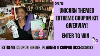 Extreme Coupon Binder Planner & Coupon Accessories Giveaway~CONTEST CLOSED WINNER ANNOUNCED