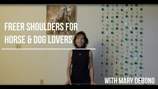 Freer Shoulders For Horse and Dog Lovers