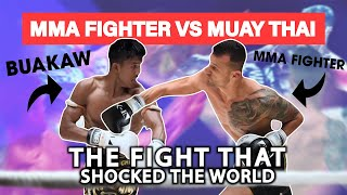 MMA Fighter vs. Muay Thai Legend: High Risk High Reward