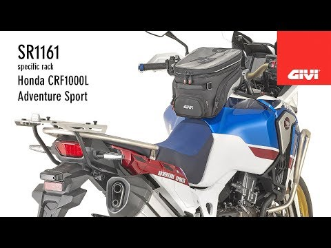 A very detailed tutorial that shows you the correct procedure to mount the GIVI SR1161 topcase specific support on the Honda CRF1000L Adventure Sport