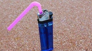 20 Amazing Life Hacks with Drinking Straws