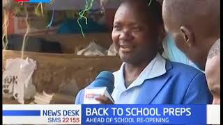 Back to school preparation underway as parents buy school essentials as schools set to re-open