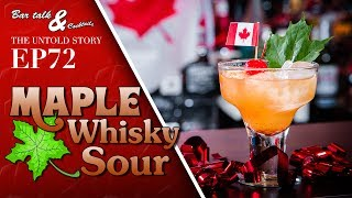 Maple Whisky Sour