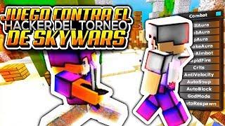 👉JUEGO contra EL HACKER del TORNEO MUNDIAL de SKYWARS 2019!😱