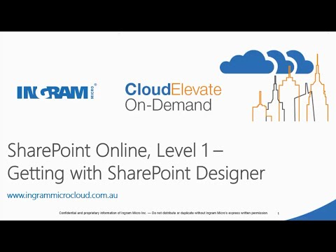 Getting Started With SharePoint Designer - YouTube