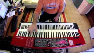 Caught in a Web - Dream Theater keyboard cover HD