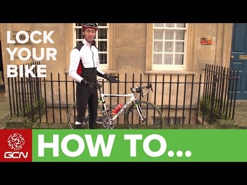 How To Lock Your Bike – Secure Your Bicycle From Thieves