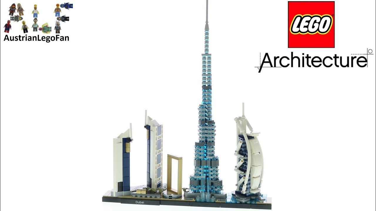 LEGO Architecture 21052 Dubai Skyline - Lego Speed Build Review