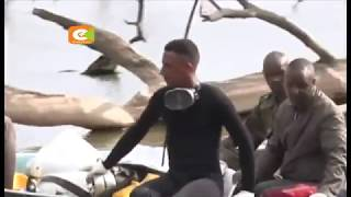 Mabaki ya ndege iliyoanguka ziwani Nakuru yapatikana