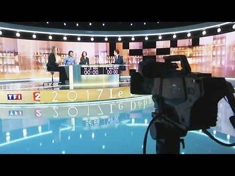 Γαλλία: Όλα έτοιμα για την αποψινή τηλεμαχία Μακρόν – Λεπέν