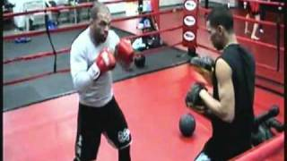 GLADIATOR TRAINING For April 9th 2011 Fight at Mullins Center, MA. UPDATED