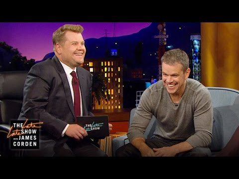 Boston Accent Lesson W/ Matt Damon