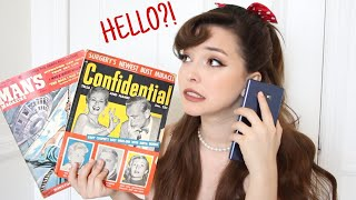 Calling Old Phone Numbers From A REAL 1950s Magazine!
