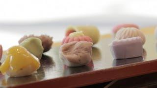 "Japanese Seasonal Sweet Bean Cake, ""Nerikiri""【Sweets Tales】& French"