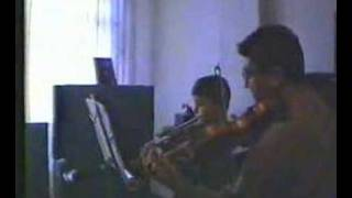 fahrettin duet with his father