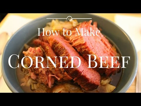 How to Make Corned Beef Brisket Braised in Guinness