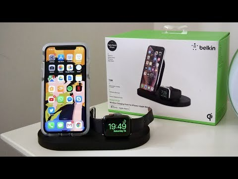 Belkin BoostUp Wireless Charging Dock (iPhone/Apple Watch)   AirPower Alternative