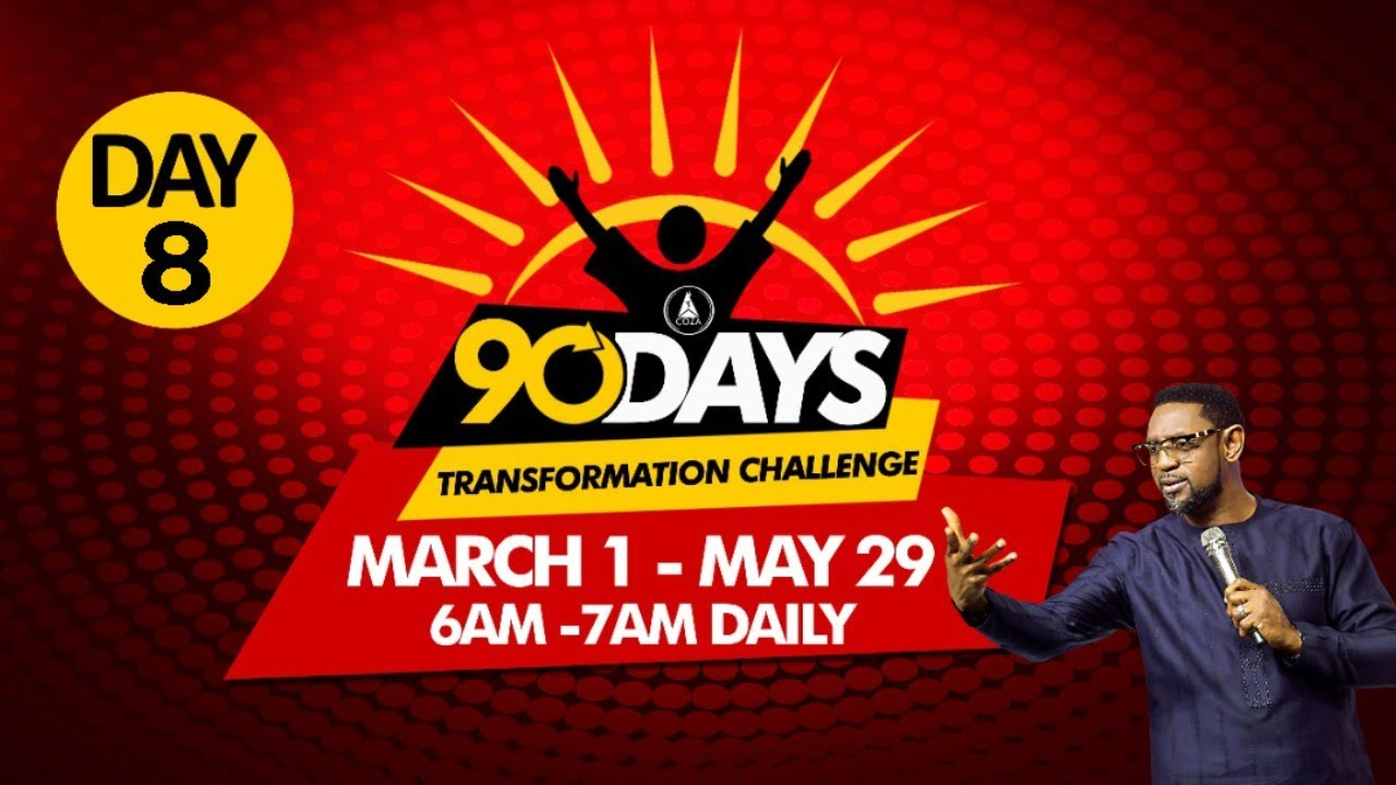 COZA 90 Day Challenge Monday 8th March 2021 - Day 8