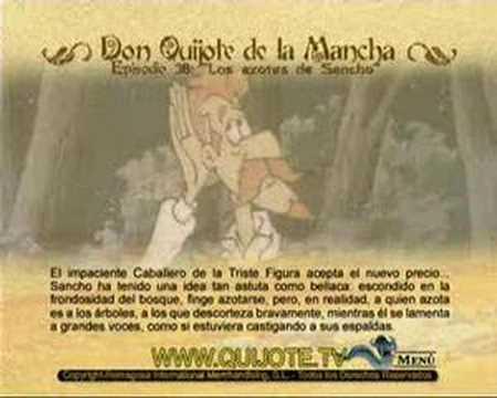 Videocuento Epis.#38 Resumen DON QUIJOTE DE LA MANCHA (1979) - QUIXOTE