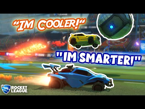 Download Smart Rocket League Players vs Mechanical Players (who's better?) HD Mp4 3GP Video and MP3