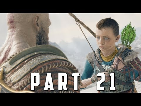 GOD OF WAR Walkthrough Gameplay Part 21 - JARN FOTR BOSS (God of War 4)