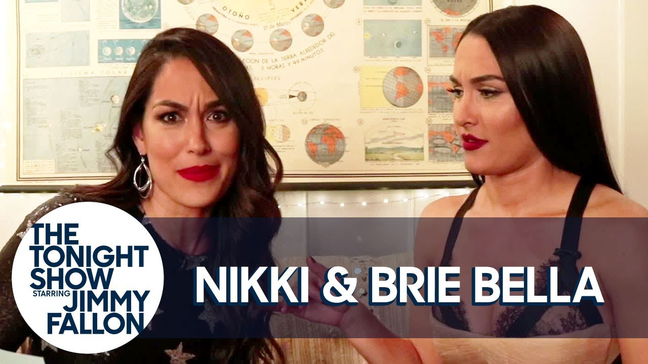 The Bella Twins Got So Scared at a Horror Movie They Spilled Soda All Over Each Other thumbnail