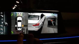 BMW M760iL xdrive G11 Surround View 3D Parking Aid V12 Turbo
