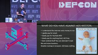 DEF CON 25 - Weston Hecker - Opt Out or Deauth Trying! AntiTracking Bots  & Keystroke Injection