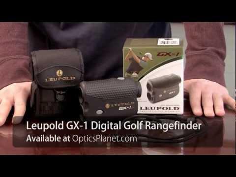 Leupold GX-1 Digital Golf Rangefinder - OpticsPlanet.com Product in Focus