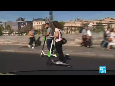 France bans electric scooters from pavements