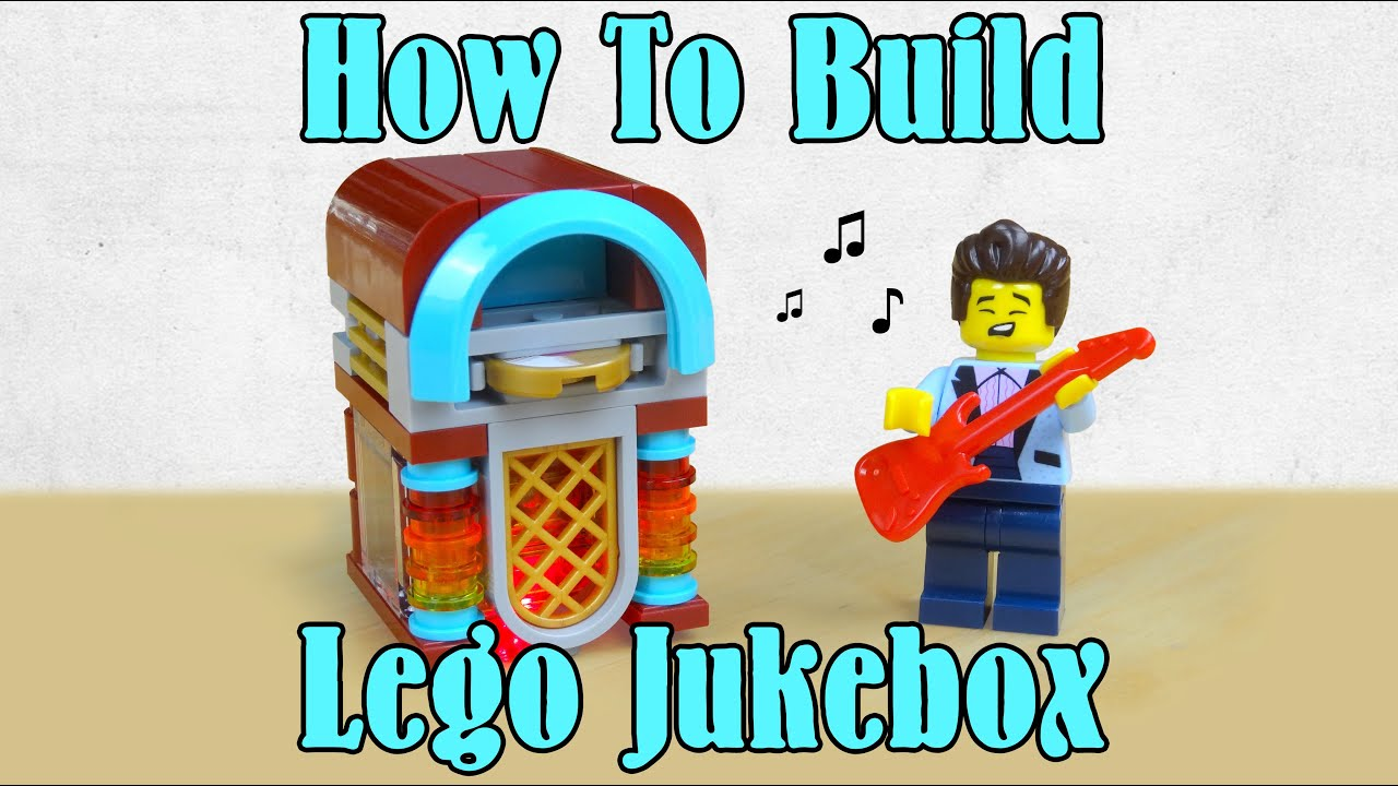 How To Build A Working Lego Jukebox - Actually Lights Up!