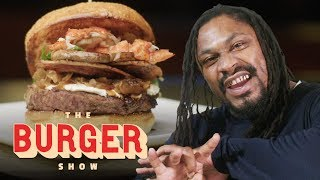 Marshawn Lynch Goes Beast Mode on a $1200 Burger in Las Vegas | The Burger Show