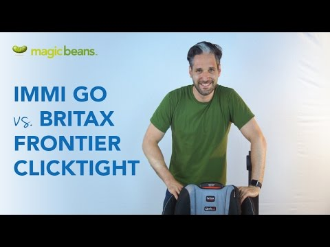 IMMI Go Hybrid Booster Seat vs. Britax Frontier Clicktight Booster Seat | Best Most Popular
